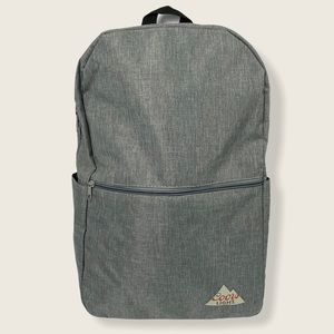 NEW Coors Light Backpack Grey Zippered Pockets